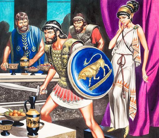 Penelopa – žena Odisejeva