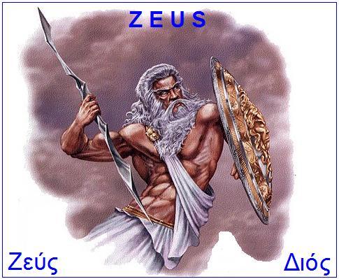 Zeus – sin titana Krona i titanke Reje
