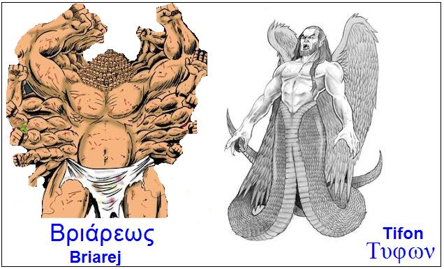 Zeus i Tifon