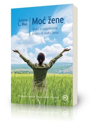 Pozivnica za predstavljanje knjige MOĆ ŽENE Louise L.Hay sa Tatjanom Divjak i Sanjom Doležal