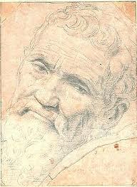 Michelangelo Buonarotti  -  lirska skica s  jednog putovanja