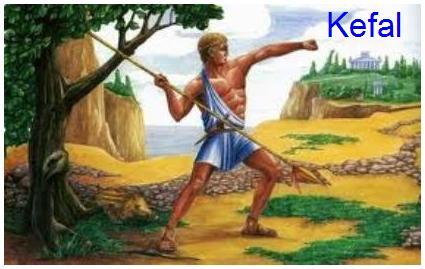 Kefal – sin boga Hermesa i njegove ljubavnice Herse kćerke Kekropove (prvi kralj Atene)