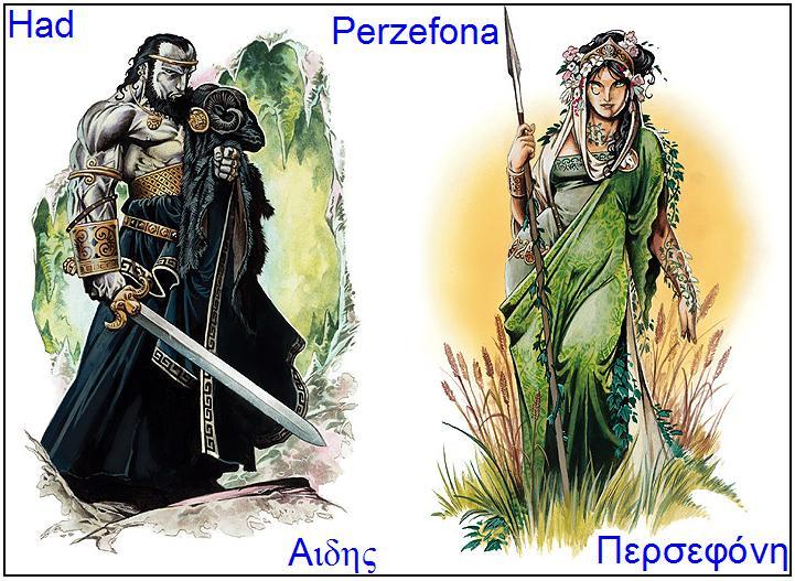 Perzefona – Demetrina kćer