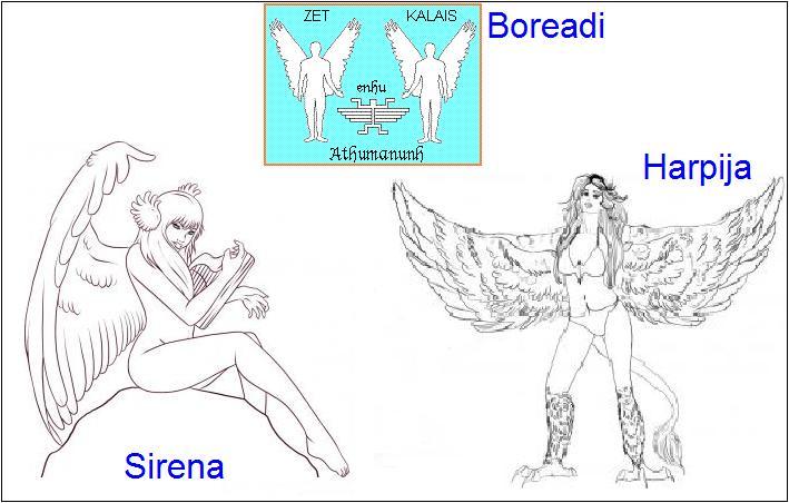 Boreadi – krilata braća mitski letači