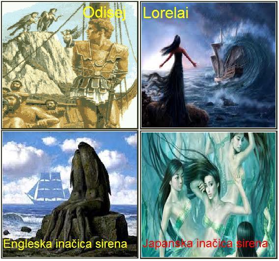 Sirene – čudovišta sa ženskom glavom