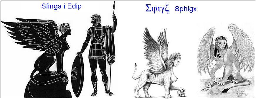 Sfinga – neman sa ženskom glavom