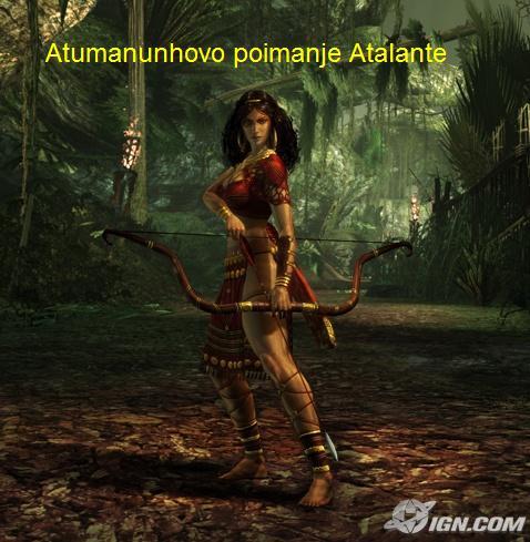 Atalanta – hrabra i odvažna djevojka kojoj su zavidjeli muškarci