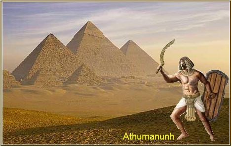 Predivno pustinjsko praskozorje pred bitku veličanstvenu