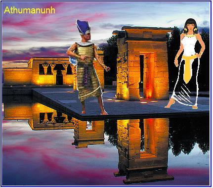 Athumanunh sanja Izidin hram