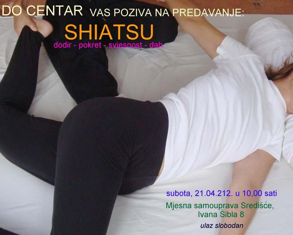 SHIATSU - besplatno predavanje