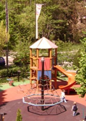 Spirale igrališta u centru Kaptol