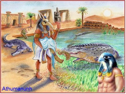 Doba kada je krokodil napao – zlo i grijeh