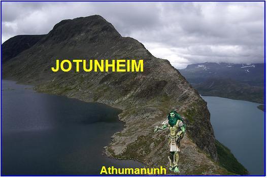 Utgard – utvrda zemlje Jotunheim