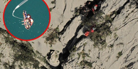 FOTO Helikopterski desant na sam vrh Anić kuka: Pogledajte fascinantne fotografije spašavanja