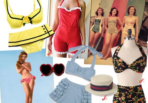 Povijest kupaćih kostima