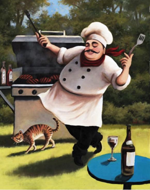Kad  muškarac kuha