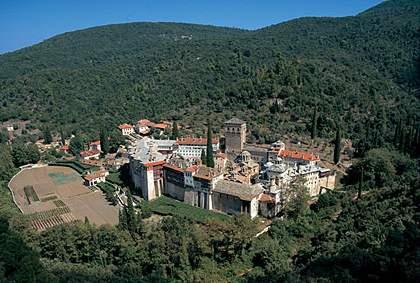 Manastir HILANDAR na Svetoj Gori (Athos) u Grčkoj