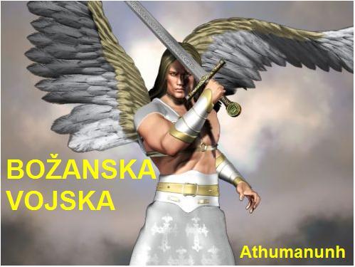 Božanska vojska - anđeli, arkhanđeli, principali, dominati, kerubini, serafini