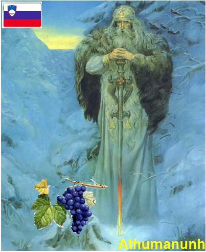 Mitologija Slovenije – priča o trsu (vinova loza)