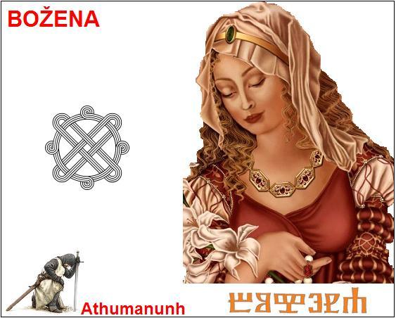 Božena – nebeska carica majka bogova