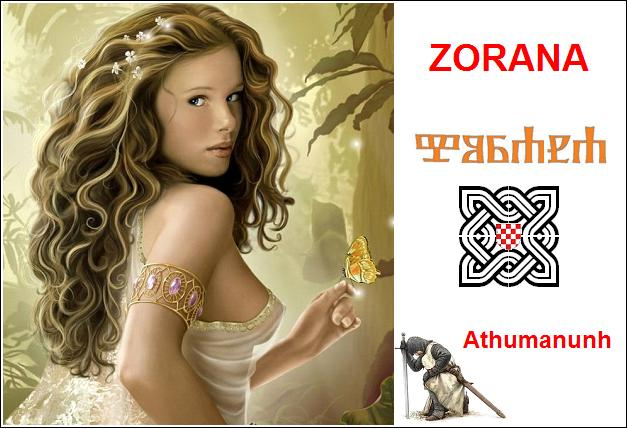 Zorana – nebeska diva