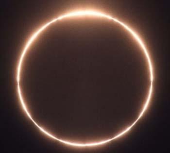 Sunce, lazno pomracenje sunca i mjesec