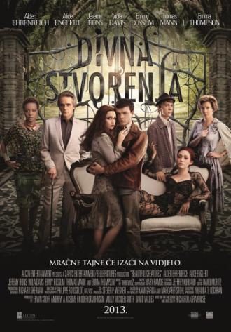 Pogledajte napetu gotičku ljubavnu priču DIVNA STVORENJA od 14. veljače u multipleskima CineStar i ostalim kinima