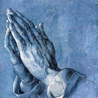 Veliki Tjedan - ruke koje mole