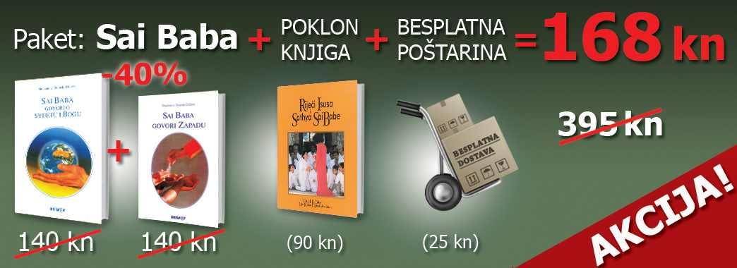 Paket Sai Baba + poklon knjiga + besplatna poštarina