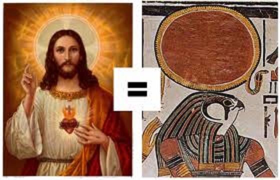 DIREKTNA VEZA EGIPATSKOG BOGA SUNCA SA ISUSOM