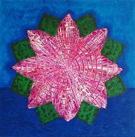 Mandala lotosovog cvijeta