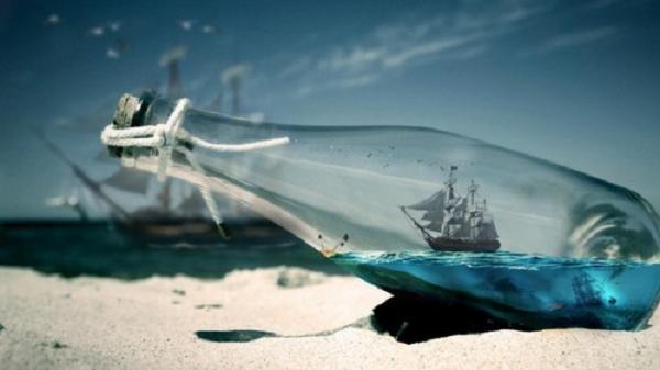 Još uvijek na obali...brod u boci- evening report