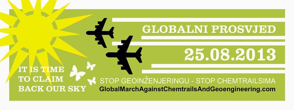 Globalni prosvjed protiv chemtrailsa i geoinženjeringa
