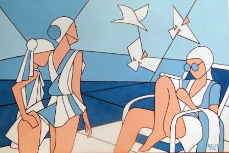 Poziv na otvaranje izložbe slika Miljenka Belera