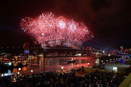 Australija uz spektakularni vatromet ušla u 2014. godinu