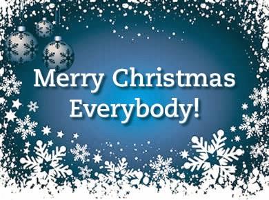 Sretni blagdani svima!
