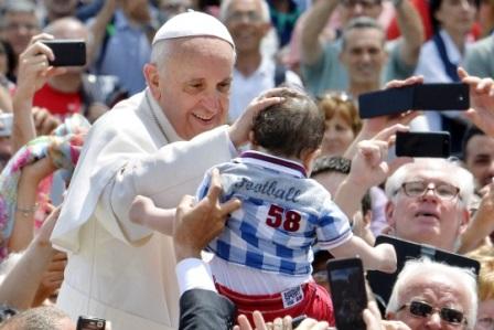 Uskrsna poruka gradu Rimu i svijetu pape Franje, 20. travnja 2014.