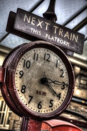 Dobro jutro..(udah prije ulaska na vlak žurbe...)