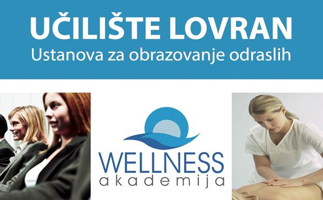 Upisi i prijave u Wellness Akademiji Lovran