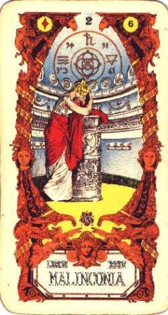 Sibilla karte - MELANKOLIJA