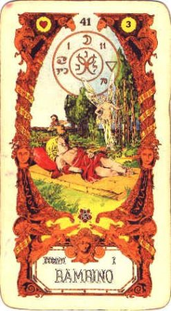 Sibilla karte - DIJETE