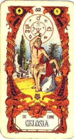 Sibilla karte - LJUBOMORA