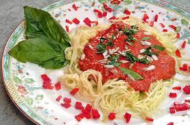 Vegetarijanska kuhinja - Napolitanski špageti