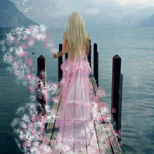 cvijet kraj izvora... je sjena duše...