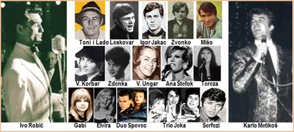 Zagreb kakav je nekad bio i Osvrt na glazbeni život Zagreba 60-tih godina - na portalu www.croatia.ch