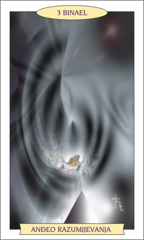 ANĐEOSKI TAROT: BINAEL - Anđeo razumijevanja