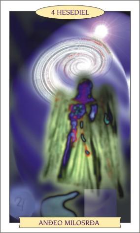 ANĐEOSKI TAROT: HESEDIEL - Anđeo milosrđa