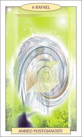 ANĐEOSKI TAROT: RAFAEL - Anđeo postojanosti