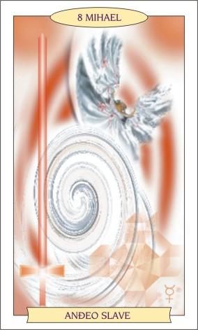 ANĐEOSKI TAROT: MIHAEL - Anđeo slave