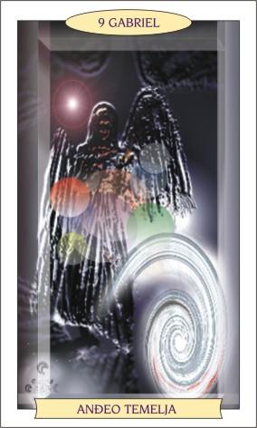 ANĐEOSKI TAROT: GABRIEL - Anđeo temelja